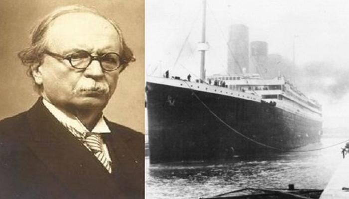 """Titanik gəmisinə gecikən türk deputat: """"Bir az tez getsəydim, ölənlərin sayı 1515 nəfərə çatardı"""""""