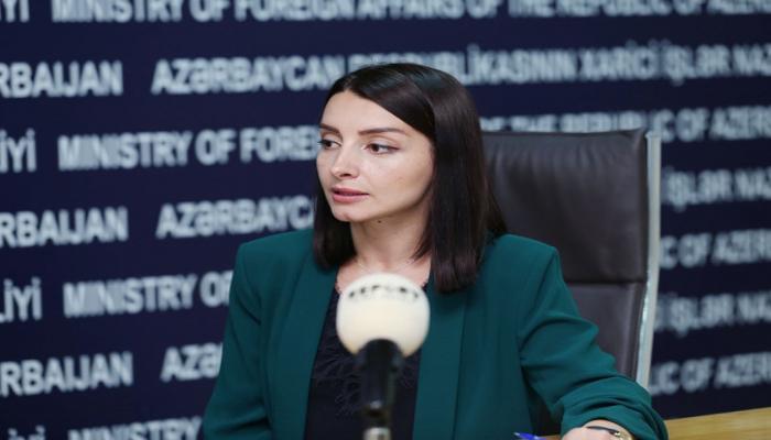Azərbaycan XİN-in sözçüsü: 'Ermənistan əvvəl-axır cavab verəcək'