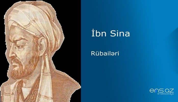 İbn Sina - Rübailəri