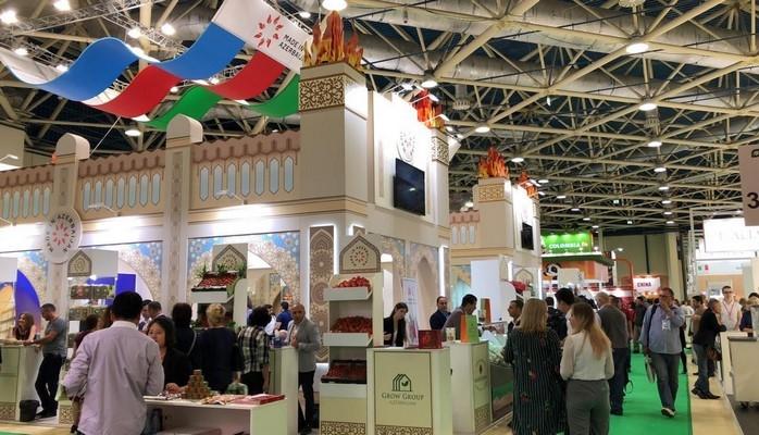 """Azərbaycan məhsulları """"Worldfood Moscow 2018"""" sərgisində nümayiş etdirilir"""