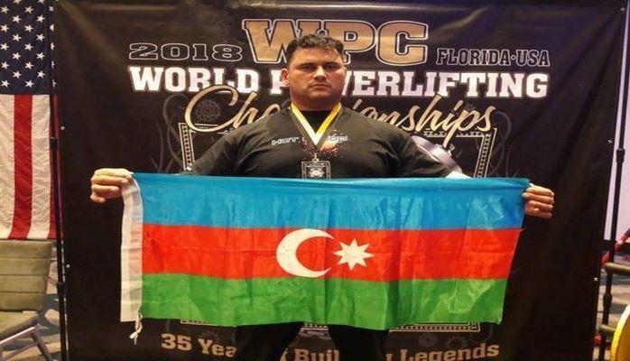 Азербайджанский полицейский стал чемпионом мира в США