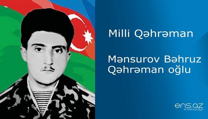 Bəhruz Mənsurov Qəhrəman oğlu