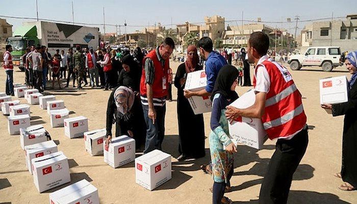Türk Kızılay'dan Yemen'e gıda yardımı