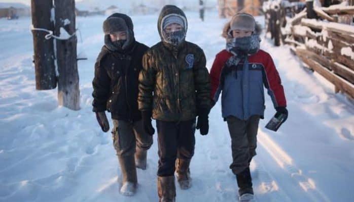 В Якутии температура упала до минус 52 градусов