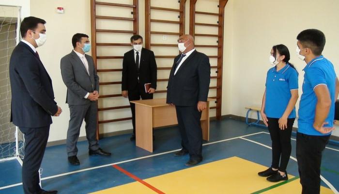 Heydər Əliyev Fondunun inşa etdiyi məktəblərin açılışı olub
