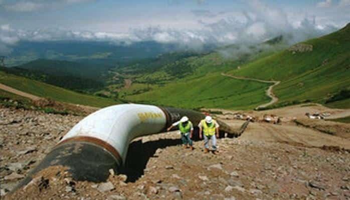 Процесс замены секций трубопровода Баку-Супса завершится к концу следующего года