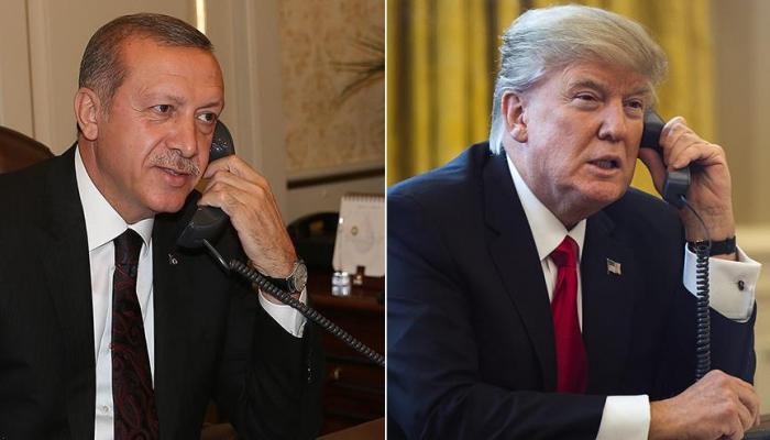 Между Эрдоганом и Трампом сосотоялся телефонный разговор