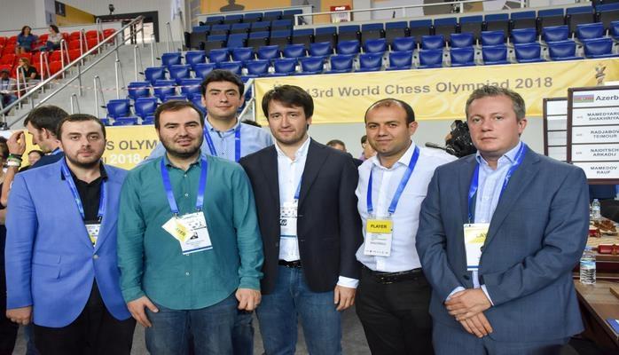 Азербайджанские шахматисты вновь победили на Олимпиаде