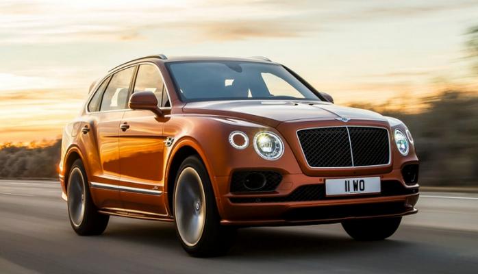 Bentley Bentayga Speed собирается стать самым быстрым внедорожником в мире