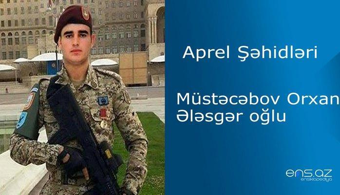 Orxan Müstəcəbov Ələsgər oğlu