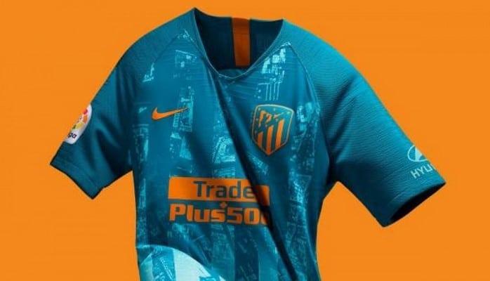 Третья футболка «Атлетико де Мадрид» - это карта