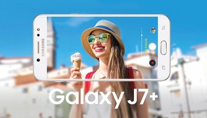 İki kameralı Samsung Galaxy J7+ smartfonunun şəkilləri yayıldı