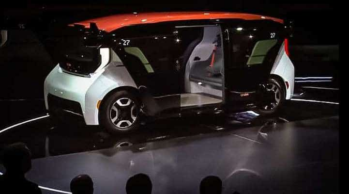 Первый беспилотник General Motors показали на видео