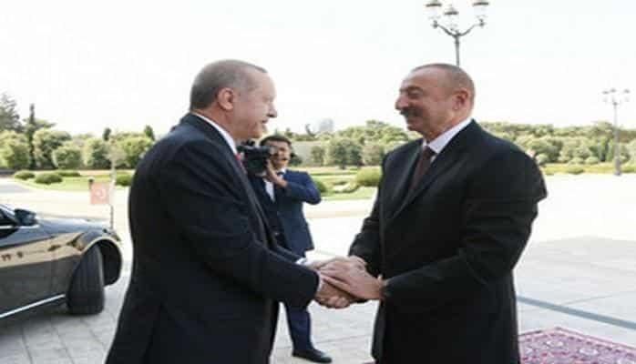 Состоялась церемония официальной встречи президента Турции
