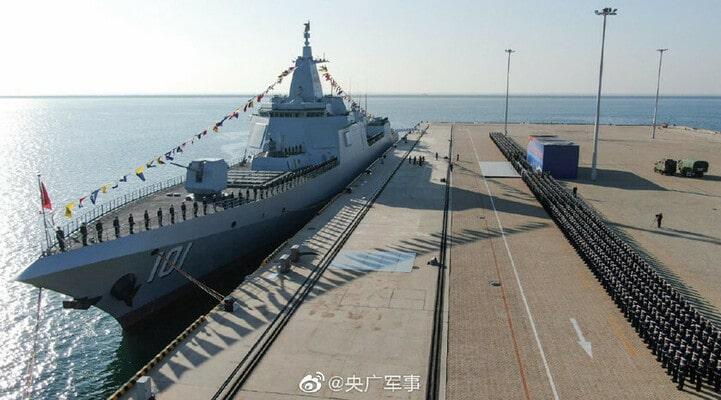 Çin ordusu dünyanın ən güclü gəmisini aldı