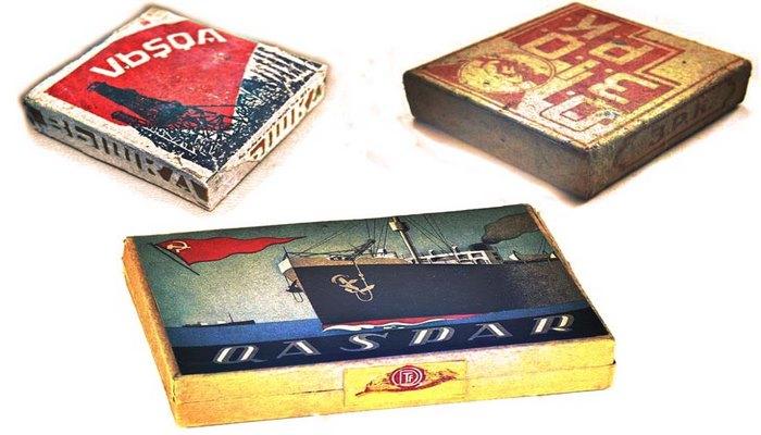 Папиросы в Азербайджане в 1920-1930-х годах (ФОТО)