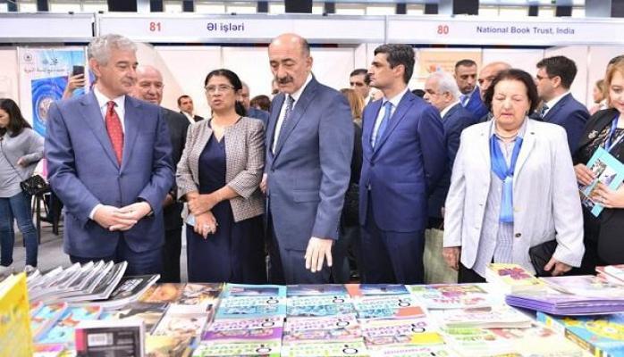 Bakıda Kitab Sərgi yarmarkası açıldı