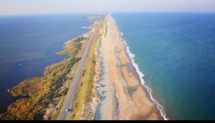 ABŞ sahilində yeni ada peyda oldu