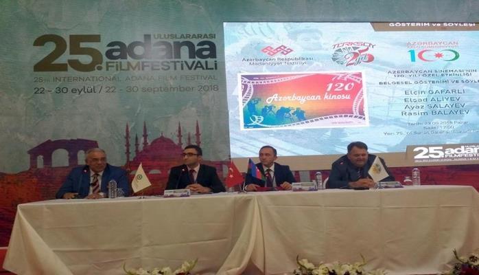 В Турции отметили 120-летие азербайджанского кино