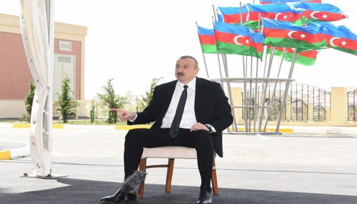 Prezident: 'Heydər Əliyev amili qoymurdu ki, ermənilər baş qaldırsınlar'