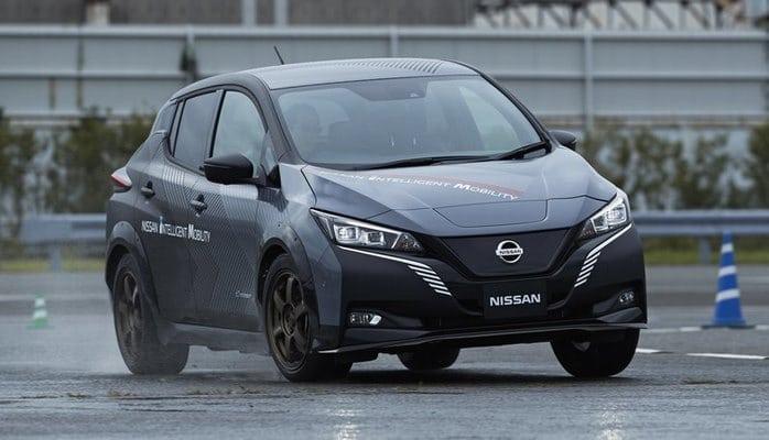 Nissan сделал полноприводный электромобиль с двумя моторами