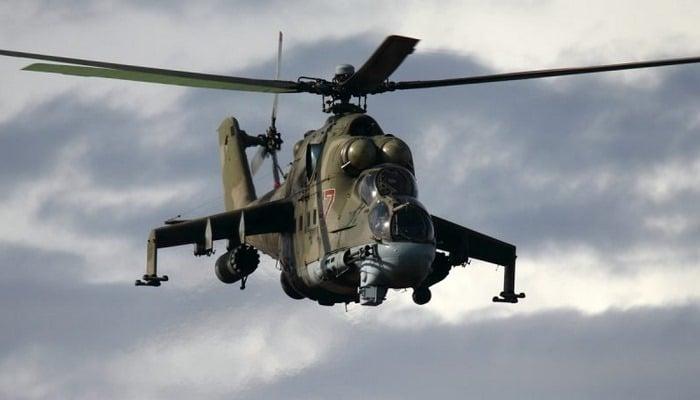 Появилось видео экстремального полета «летающего танка»