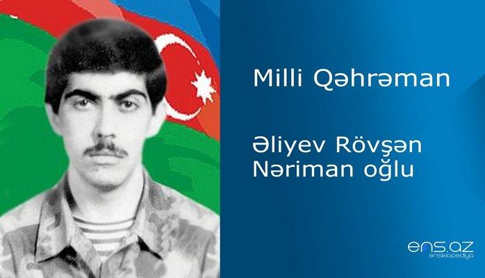 Rövşən Əliyev Nəriman oğlu
