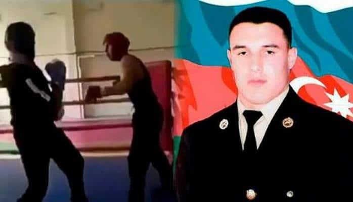 Mübariz İbrahimovun rinqdə çəkilən video görüntüsü