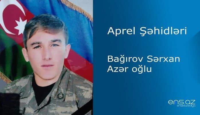 Bağırov Sərxan Azər oğlu