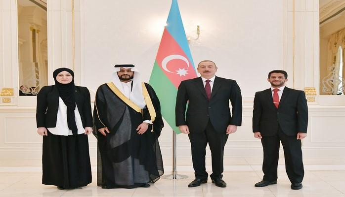 Президент Азербайджана принял верительные грамоты новоназначенного посла Саудовской Аравии