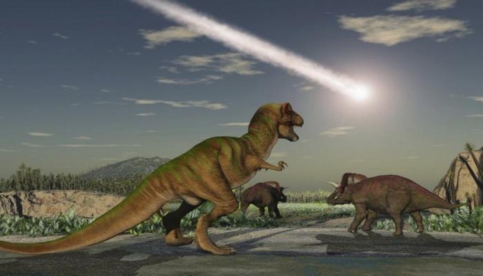Массовое вымирание в истории Земли предшествовало эпохе динозавров