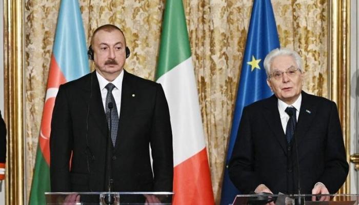 """Sercio Mattarella: 2020-ci il İtaliyada """"Azərbaycan ili"""" elan olunub"""