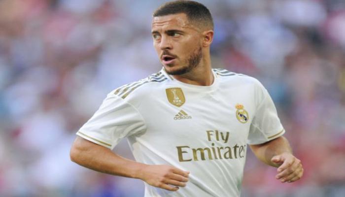 Азар пропустит два ближайших матча мадридского 'Реала'
