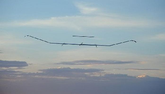 """""""Zephyr"""" dronu 26 gün havada qalıb"""