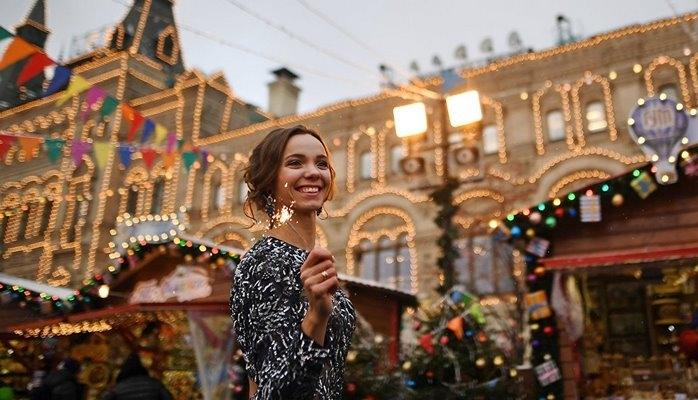 Москва вошла в список городов с лучшими рождественскими ярмарками мира
