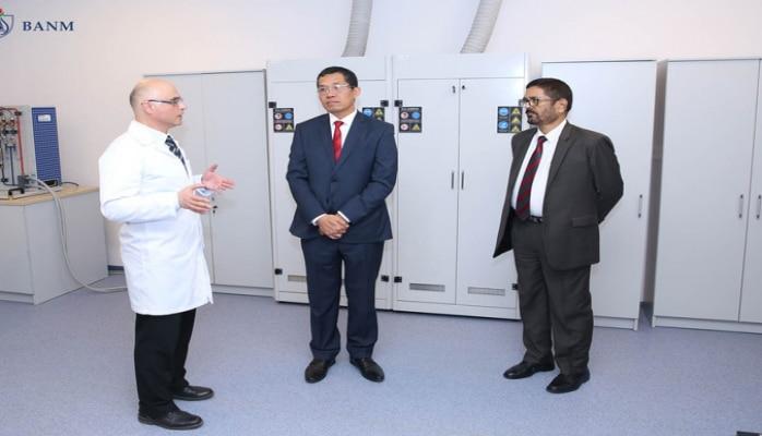 Посол Индии: БВШН является одним из самых современных учебных заведений