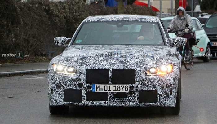 Yeni BMW M3 Sedan yakından görüntülendi
