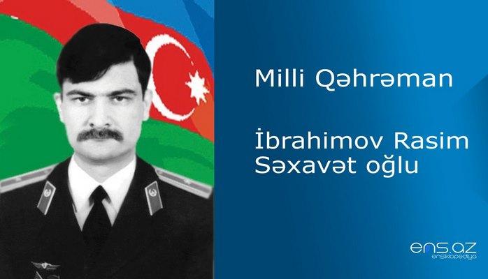 Rasim İbrahimov Səxavət oğlu