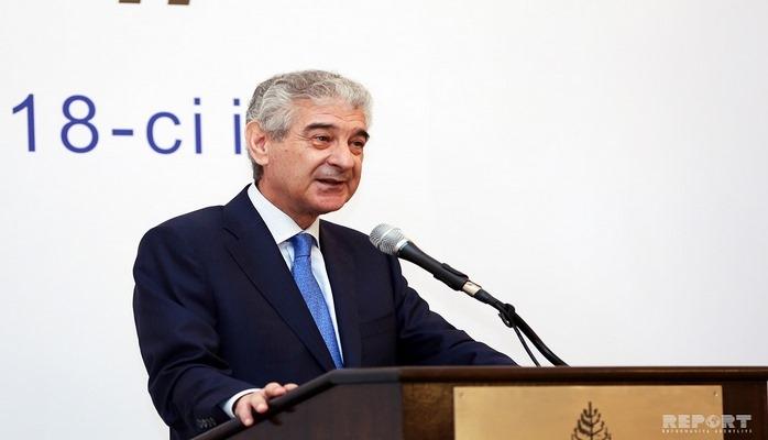 Возглавляемая Али Ахмедовым азербайджанская делегация отбыла в Китай