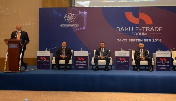 В Баку проходит первый Международный форум по электронной коммерции