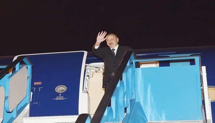 Рабочий визит Президента Ильхама Алиева в Турцию завершился