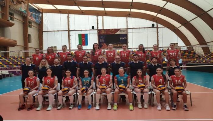 Женская сборная Азербайджана по волейболу вступает в борьбу на чемпионате Европы