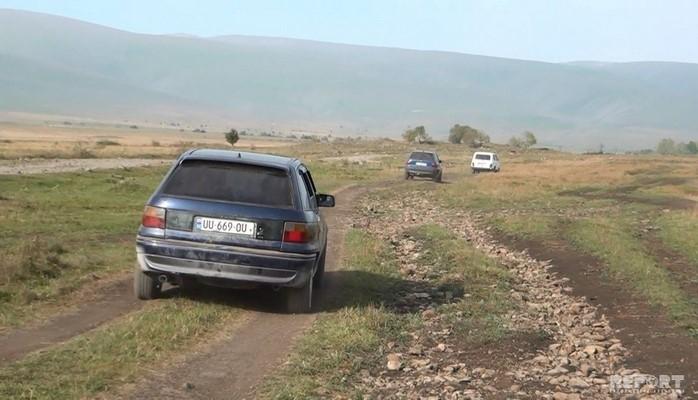 В азербайджанских селах Грузии решится 30-летняя проблема с дорогами