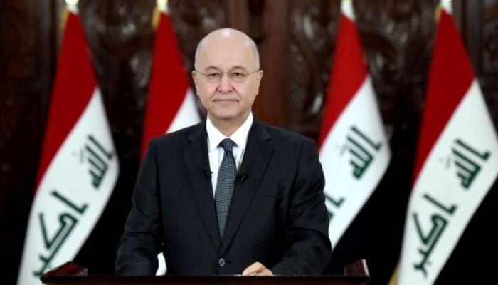 Глава Ирака Бархам Салех поздравил Президента Азербайджана Ильхама Алиева