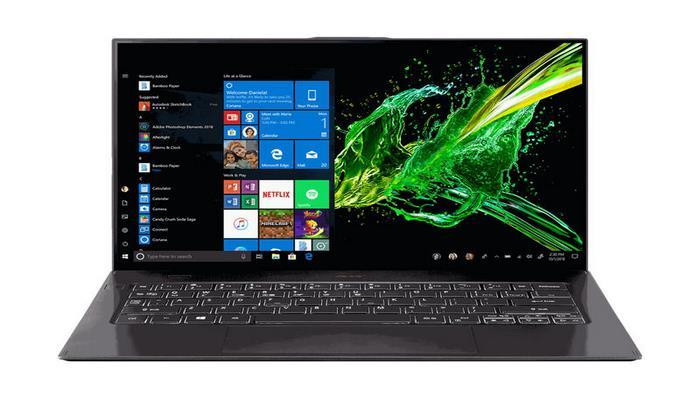 Acer обновила свой самый тонкий и легкий ноутбук