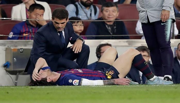 """""""Барселона"""" подтвердила, что Месси, скорее всего, не сыграет с """"Реалом"""""""