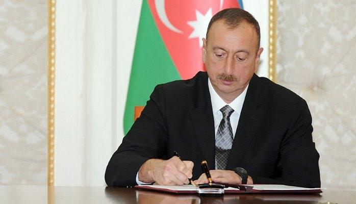 İlham Əliyev Bakı Şəhər İcra Hakimiyyəti ilə bağlı fərman imzaladı