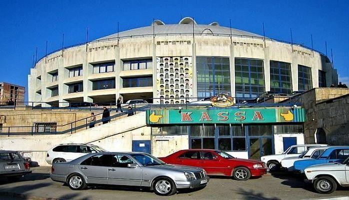 Здание Бакинского цирка в плачевном состоянии