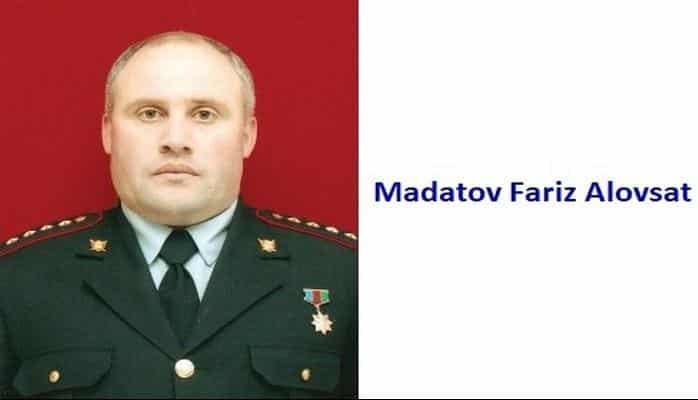 Madatov Fariz Alovsat