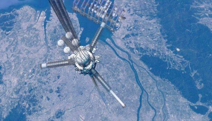 Япония проведет первые испытания концепции космического лифта